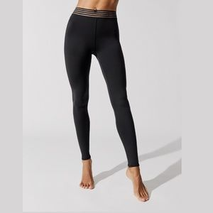ALO YOGA Gaze Legging High Waist Black Small #3331